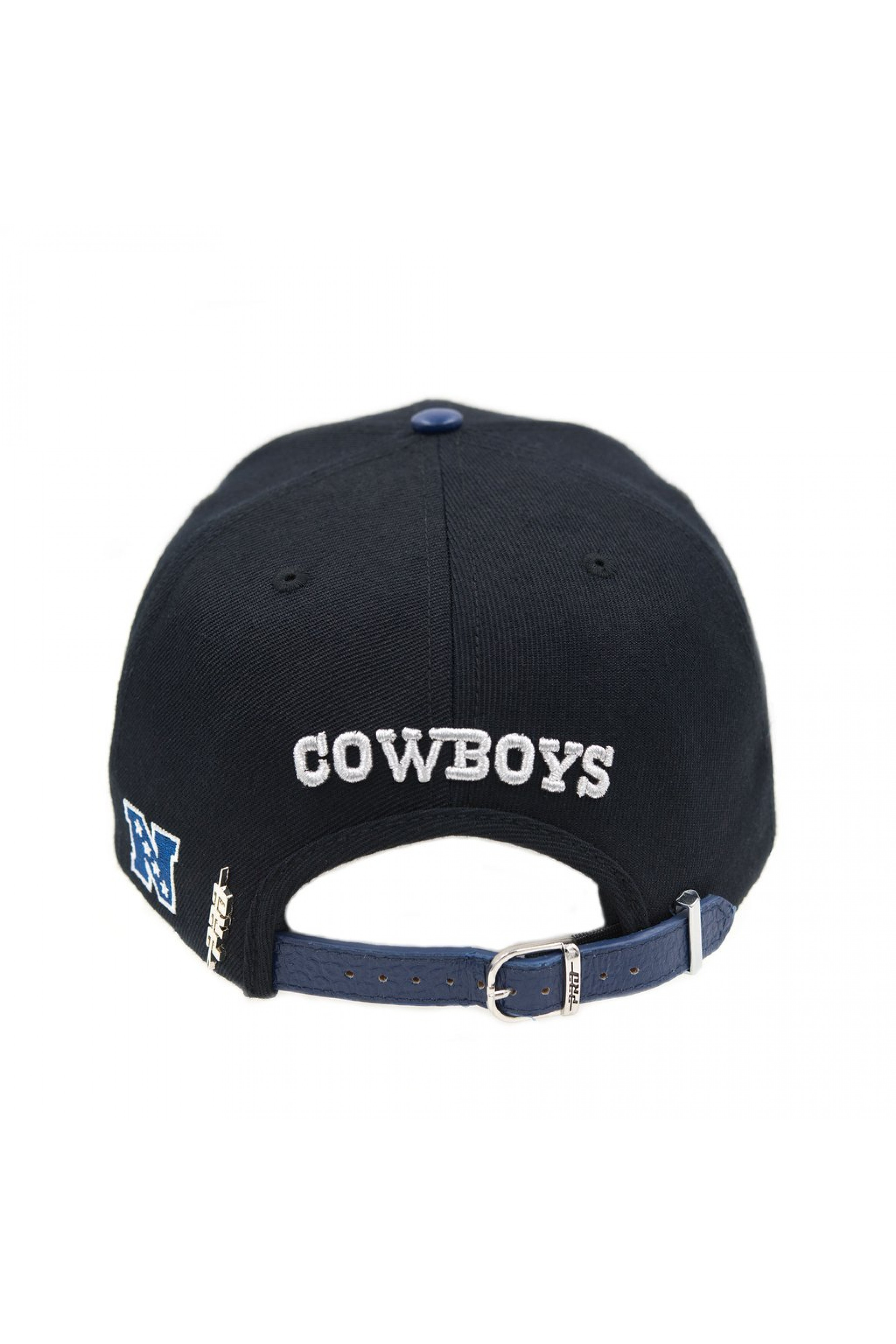 dbe3133845436 Dallas Cowboys Logo Leather Strap Back